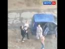 У меня папа полиционер вот посмотрим как будет подростки напали на беременную женщину и разбили автомобиль