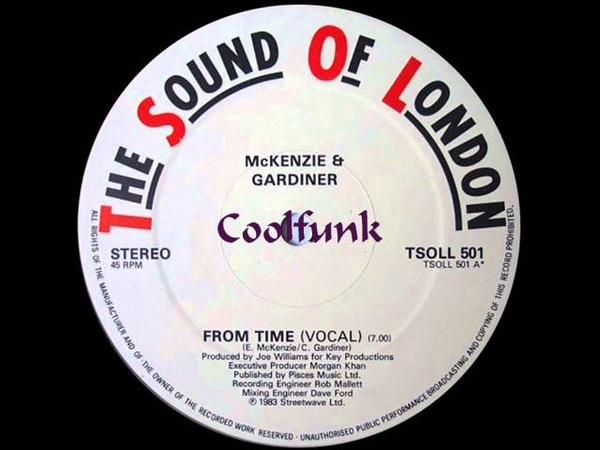 McKenzie Gardiner - From Time (12 Brit-Funk 1983)