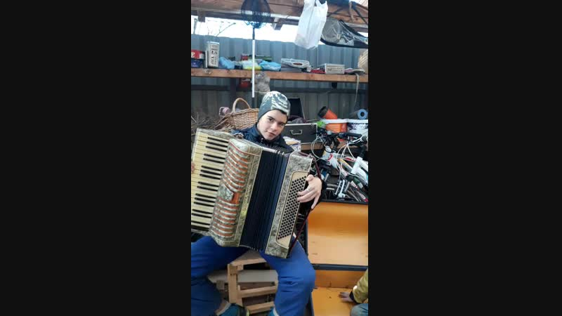 Как я играю на аккордеоне 😋