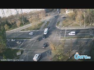 Авария в Мариуполе.