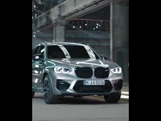 Новые BMW X3 M Competition и BMW X4 M Competition.