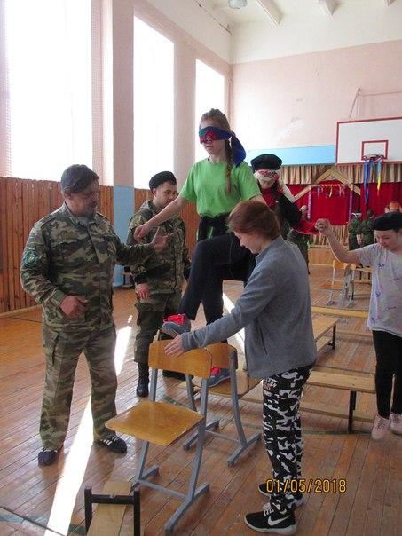 C 28 апреля по 01 мая на базе МБОУ Киршонская ООШ прошли к