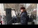 Митинг против передачи Курил Выступление Владимира Лакеева