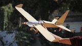 How to make a cardboard airplane - flying bottle aeroplane