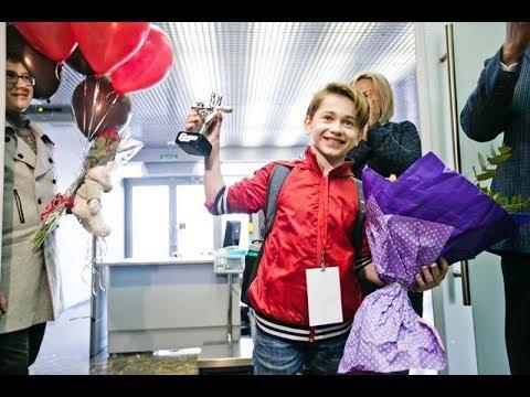 Рутгер Гарехт вернулся в Оренбург Встреча в аэропорту