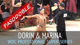 Dorin Frecautanu & Marina Sergeeva | Пасодобль | WDC World Professional Latin Super Series