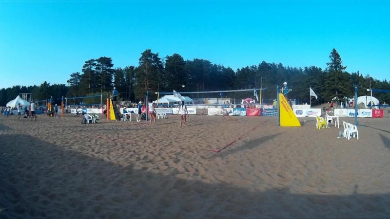 Beach volley Russia Solnechnoe 2018 W 11 Zazhigina-Yakovleva and Igusheva-Yaremenko