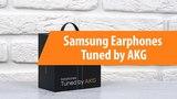 Распаковка Samsung Earphones Tuned by AKG Unboxing Samsung Earphones Tuned by AKG