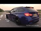530HP BMW M3 F81 Touring - Start, Revs, Accelerations!
