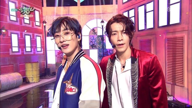 SUPER JUNIOR-DE 슈퍼주니어-DE Comeback Stage '머리부터 발끝까지 ('Bout You)' KBS MUSIC BANK 2018.08.17