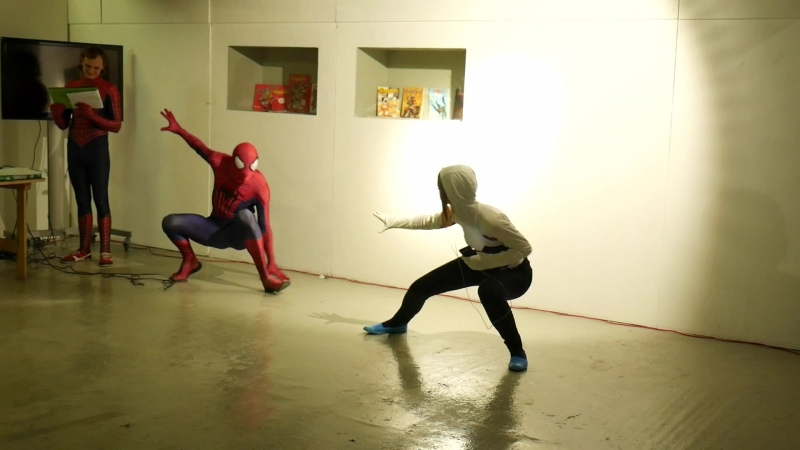 3.11. Spidey RickCheshir - Коломна Москва - Человек-паук Гвен-паук - Amazing Spider-Man 2 Spider-Gwen