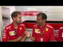Seb and Kimi about if they play video games in the free time - - Seb5 Kimi7 BelgianGP