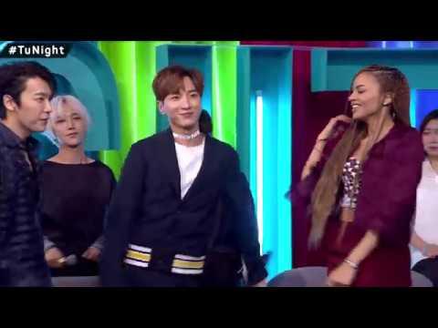 Super Junior y Leslie Grace en México Tu Night con Gabo Ramos