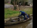 Guy Tries to Board Canoe for the First Time - 987700