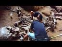 Giant Human Skeleton found at Khao Khanap Nam Cave