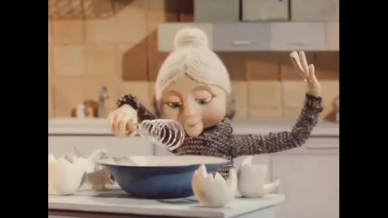 Встречайте бабушку 1984 Кукольный мультик ¦ Золотая коллекция