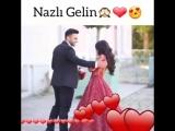 Sen menim sevdiyim insansan Naz eden gelin evlenme teklifi instagram ucun