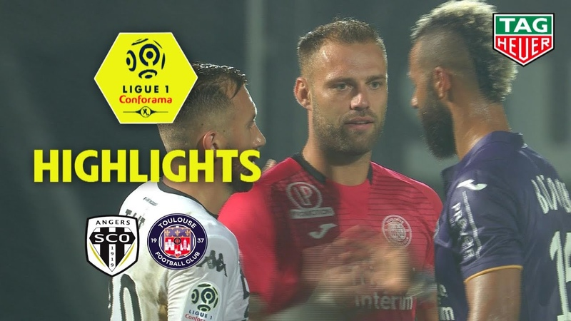 Angers SCO - Toulouse FC ( 0-0 ) - Highlights - (SCO - TFC) / 2018-19