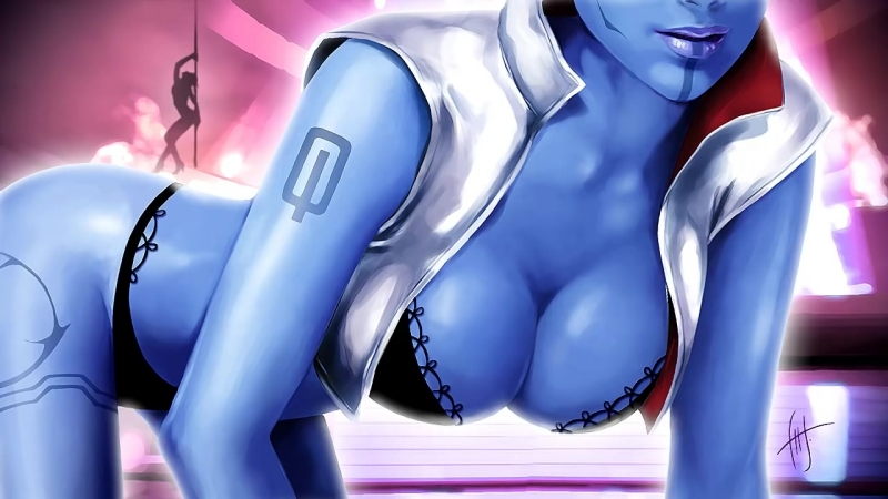 Mass Effect - Afterlife - Aria