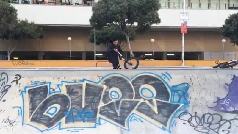 Scrub BMX Tricks