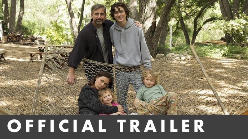 BEAUTIFUL BOY - Official UK Trailer - Starring Steve Carell and Timothée Chalamet