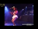 Chick Shows Off Her Sexy Dance Moves On Stage!