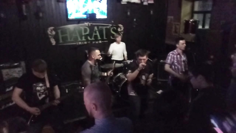 Bear Pumpkins - Человек Запой (Live at Harats Pub 22.04.18)
