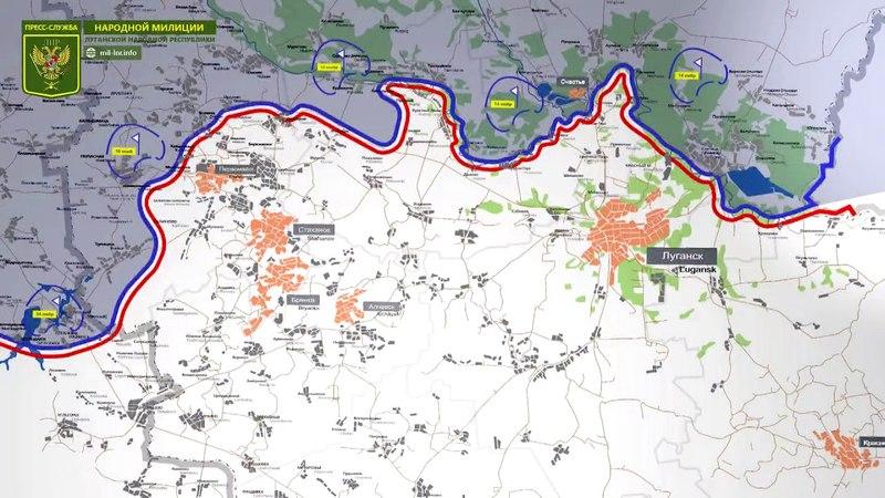 21 мая 2018 - Обстановка на линии соприкосновения за сутки   Карта обстрелов