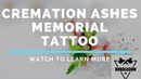 Using Cremation Ashes in Tattoo Ink For a Memorial Tattoo @ Bubblegum Ink