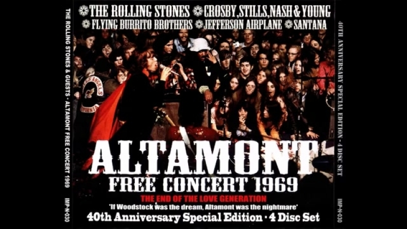 Altamont (Live 1969) The Rolling Stones