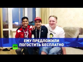 «Решил остаться в России, потому что люди здесь дружелюбные»: болельщик из Перу ищет работу в Екатеринбурге