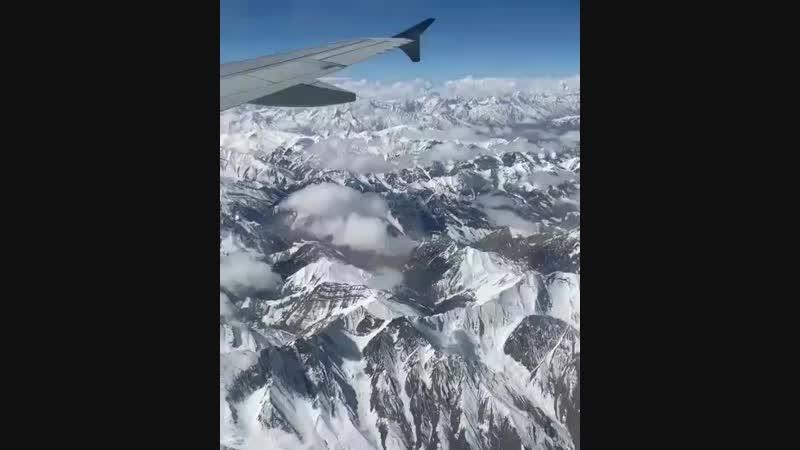 Flying Back to Kashmir ✈