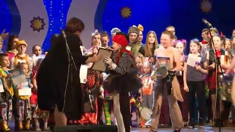 Краевой фестиваль Волшебная свирель (Новости ОТН, 30.03.15г., Бийск)