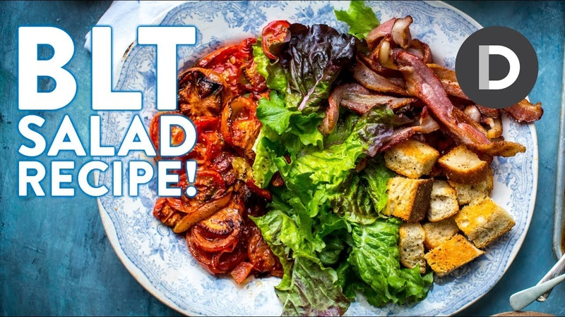 How to make....BLT Salad with Blue Cheese Dressing!