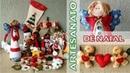 Artesanato / Enfeites de Natal 2 - O Natal Está Chegando