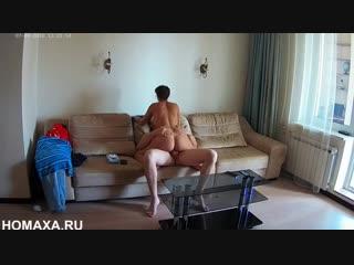Скрытая камера сняла секс клиента с толстой русской проституткой