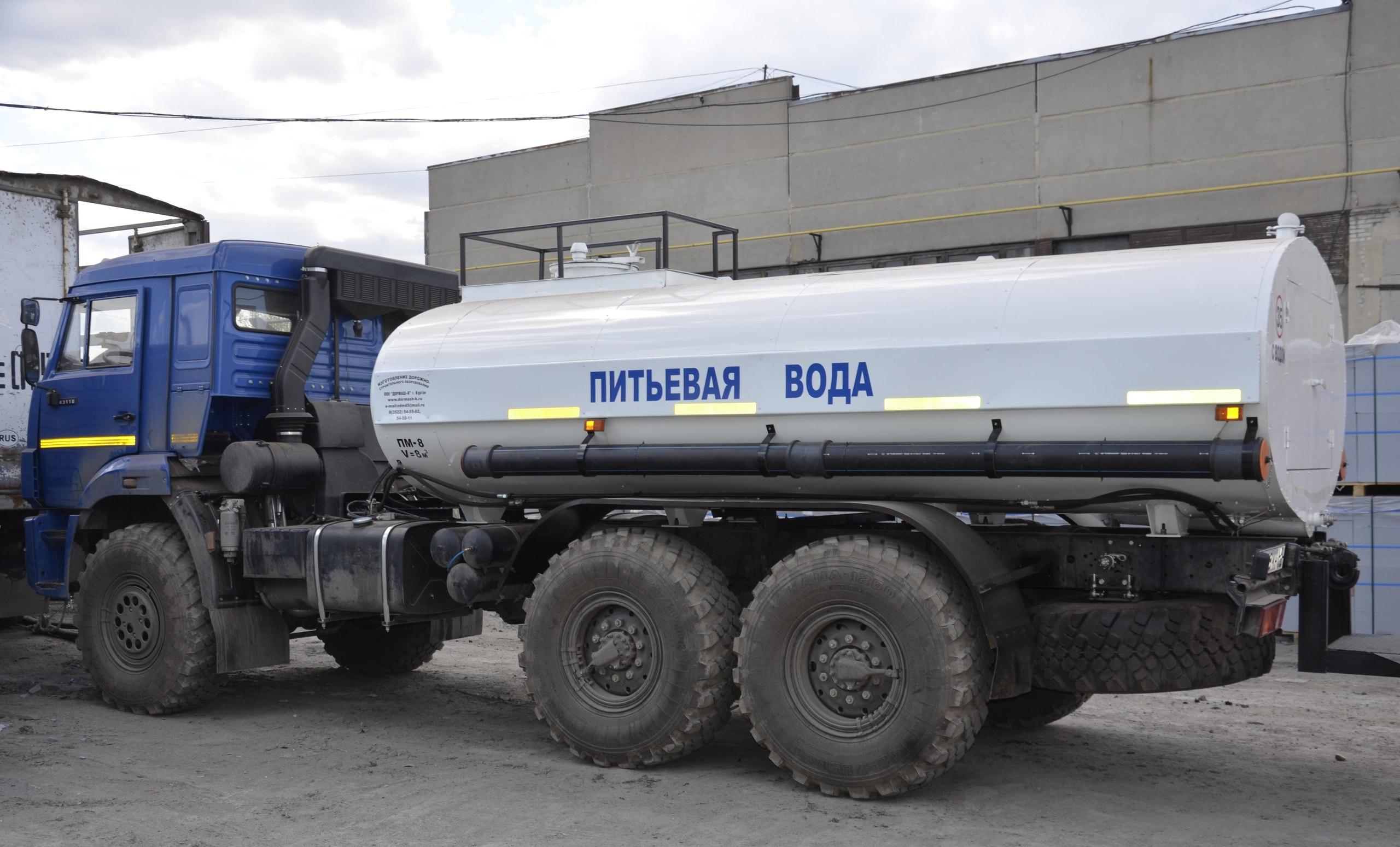 В Балабанове организуют подвоз питьевой воды