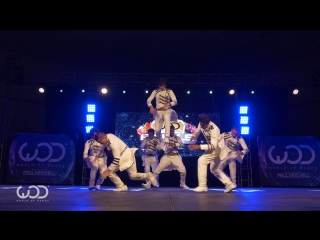 Deep House presents: Desi Hoppers 1st Place Finals ¦ FRONTROW ¦ World of Dance Finals ¦ #WODFINALS