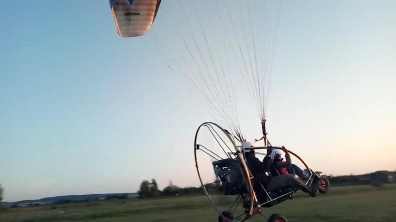 Вечерние полеты с космопорта Луговское_3 сентября