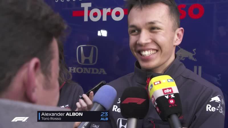 Alexander Albon - High-speed stuff a bit of a shock