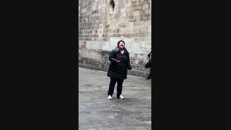 В Барселоне 2018г