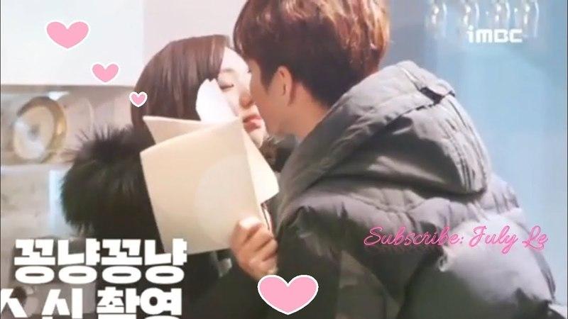 Yoo Seung Ho 유승호 ❤️ Chae Soo Bin 채수빈 ~I Melt With You || I'm not Robot BTS || Love Moments