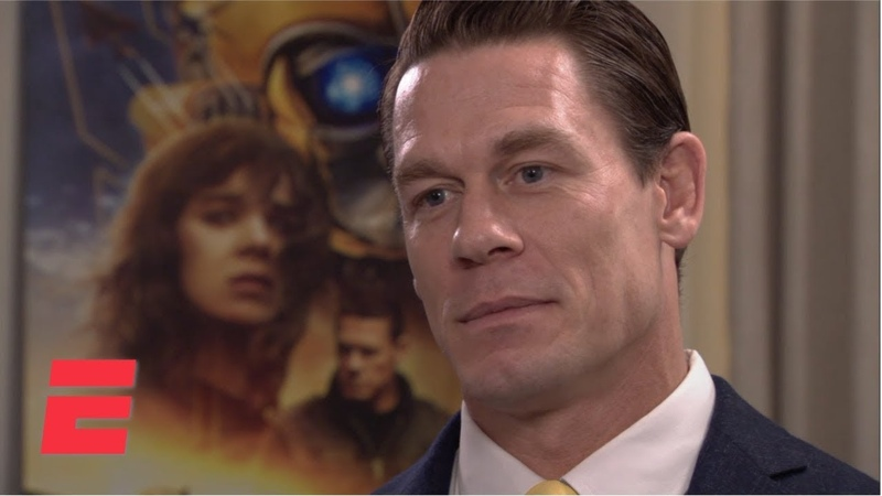 John Cena compares acting to WWE ESPN