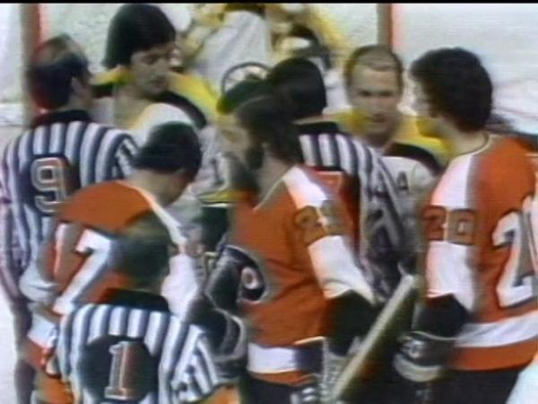 Stanley Cup Final Philadelphia Flyers @ Boston Bruins Box Score — May 9, 1974 P1