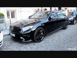 Mercedes-Benz S65 AMG Brabus - START-UP and REV