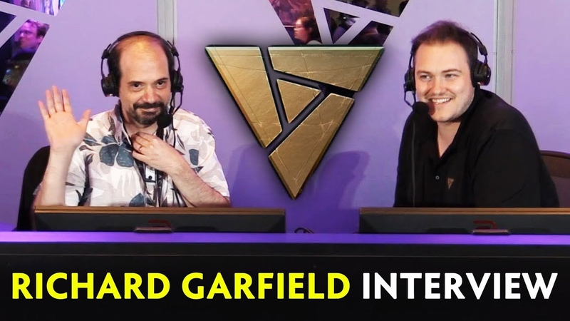 Richard Garfield interview on Artifact — Valve's card game PAX 2018