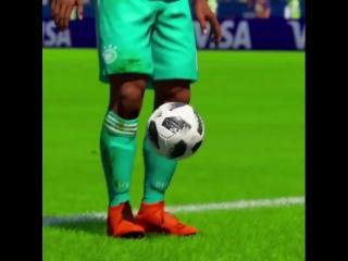 FIFA18 WC Подборка голов #1