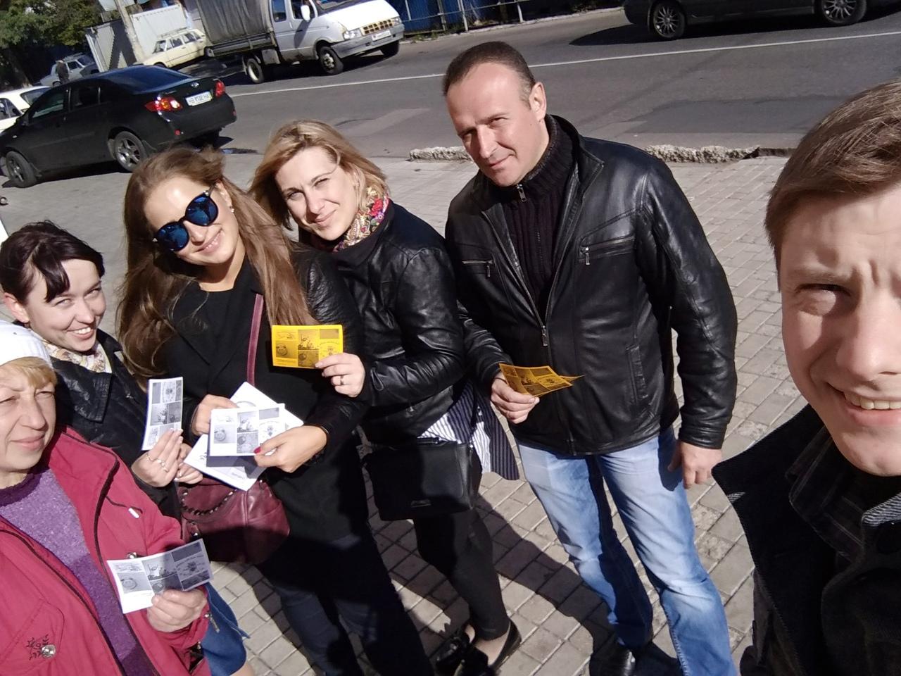 В Куйбышевском районе прошла молодёжная акция, посвященная Всемирному дню улыбки