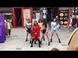 150418 (G) I-DLE New GG Cube Cover Dance BTS CL 4Minute @Hongdae