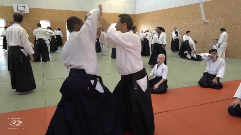Aikido- Christian Tissier Paris 2018